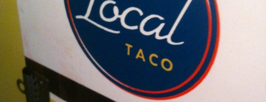The Local Taco is one of Need to try.