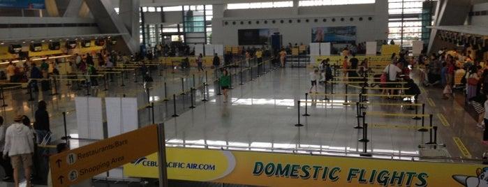 Ninoy Aquino International Airport (MNL) Terminal 3 is one of Manila.