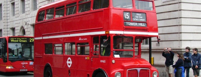 TfL Bus 15 is one of Around The World: London.
