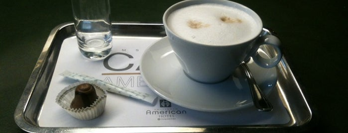 Café Américain is one of Amsterdam: student edition.