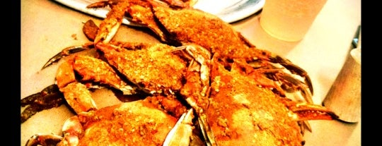 L.P. Steamers is one of The 15 Best Places for a Crab in Baltimore.