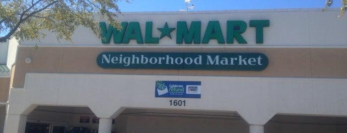 Walmart Neighborhood Market is one of Princess' Tampa Hot Spots!.