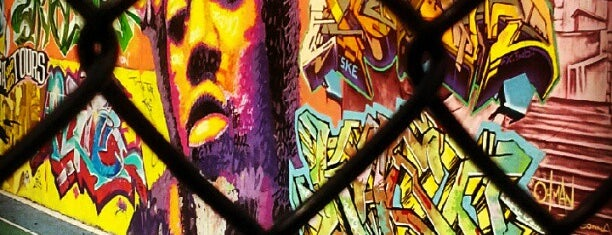 Graffiti Hall Of Fame is one of Revised NYC.