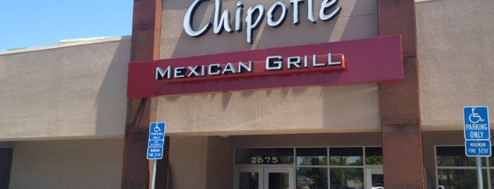 Chipotle Mexican Grill is one of Best Insider Secrets at Various Venues (Palo Alto).