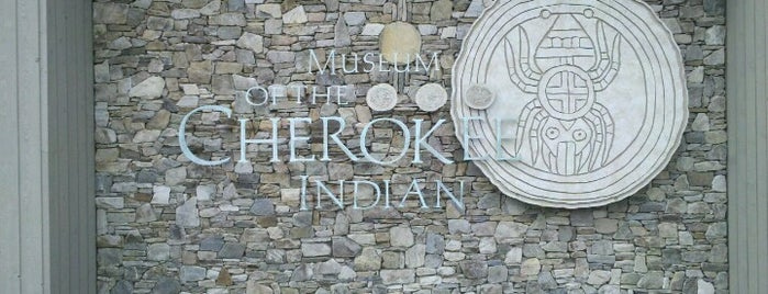 Museum of the Cherokee Indian is one of Explore NC.