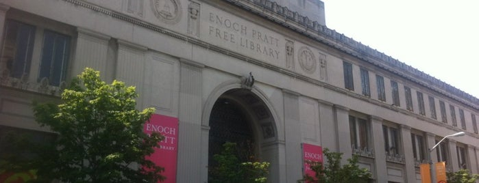 Enoch Pratt Free Library - Central Library is one of 4sq Cities! (USA).