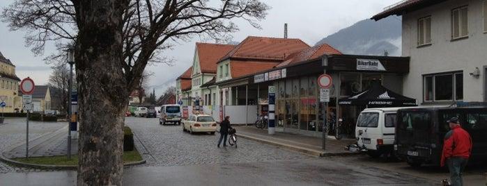 Bahnhof Mittenwald is one of DB ICE-Bahnhöfe.
