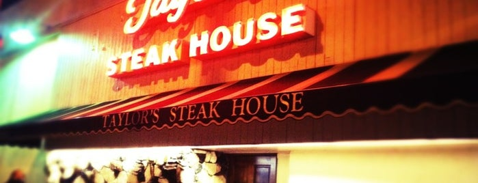 Taylor's Prime Steak House is one of Los Angeles City Guide.