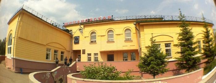 Ж/д станция Шимановская is one of Транссибирская магистраль.
