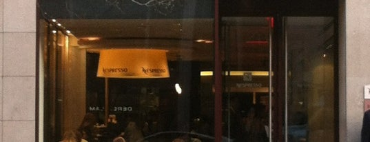 Nespresso Boutique Bar is one of Manhattan's Best Coffee by Subway Stop.