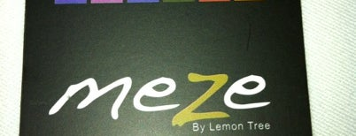 Meze by Lemon Tree is one of İstanbul Meyhaneleri.
