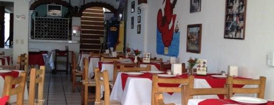 Langosta Feliz is one of Puerto Vallarta best mexican popular food.
