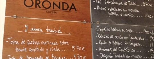 Oronda is one of lugares las rozas.