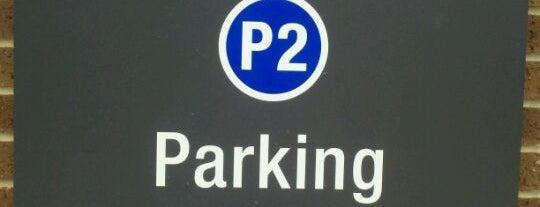 IPFW Parking Garage #2 is one of Indiana University Purdue University - Fort Wayne.