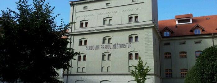 Malt House is one of Písek.