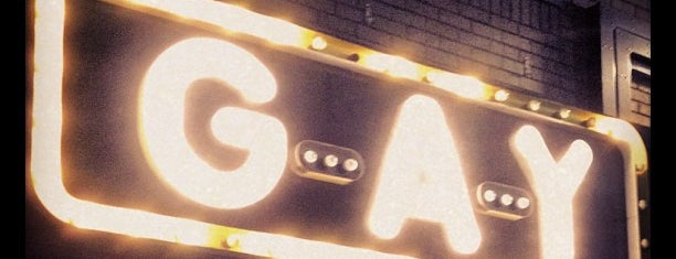 G-A-Y Bar is one of London.