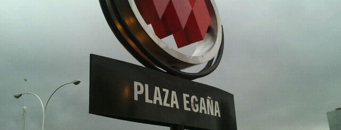 Metro Plaza Egaña is one of Estaciones del Metro de Santiago.
