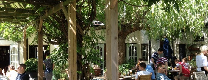 The Albion is one of London's Best Beer Gardens.