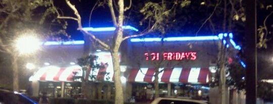 TGI Fridays is one of Favorite Food.