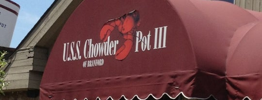U.S.S. Chowder Pot III is one of Places to eat.