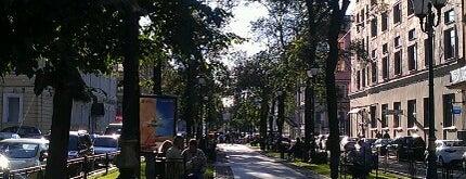 Фурштатская улица is one of Места.