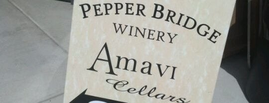 Pepper Bridge Winery is one of Woodinville Wineries.
