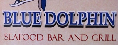 Blue Dolphin Seafood Bar & Grill is one of My New Neighborhood.