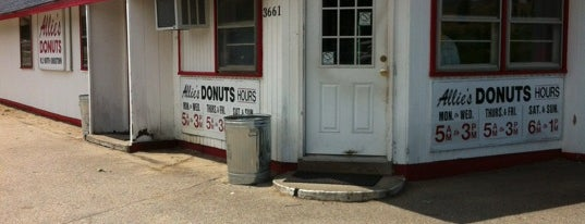 Allie's Donuts is one of Newport, RI.
