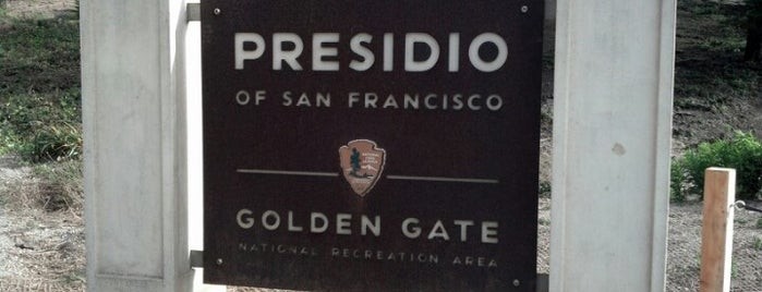 Presidio of San Francisco is one of Outdoors.