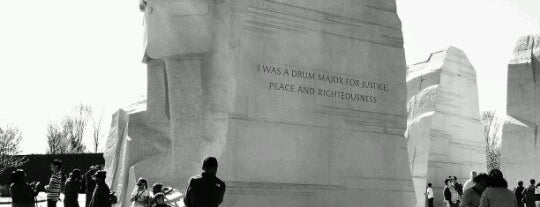 Martin Luther King, Jr. Memorial is one of ♡DC.