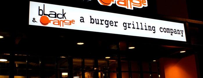 Black & Orange is one of Good food here.