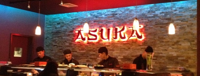 Asuka Sushi is one of Friends in ny.