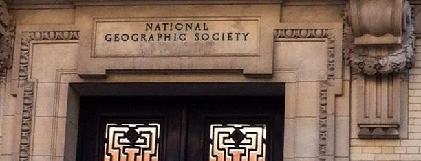 National Geographic Society is one of ♡DC.