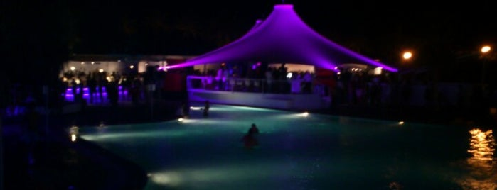 Aura Beach Club is one of To-Do list: Barcelona.
