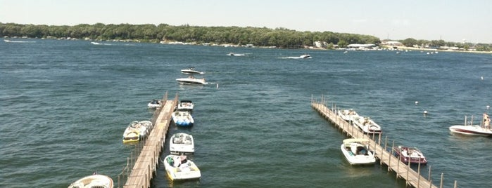 Rebos - On The Lake is one of Top 10 favorites places in West Okoboji, IA.
