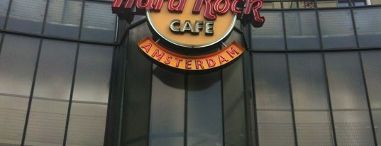 Hard Rock Cafe Amsterdam is one of Restaurants.