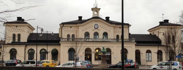 Örebro Centralstation is one of Tågstationer - Sverige.