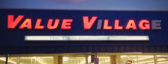 Value Village is one of Charlotte WORKING LIST.