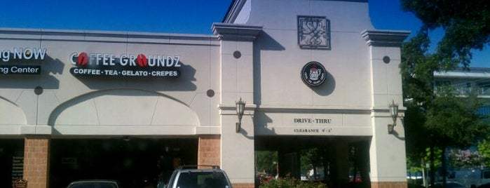 Coffee Groundz is one of Houston coffee.