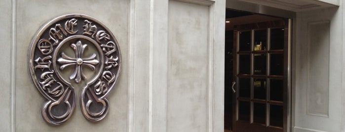 Chrome Hearts is one of The 15 Best Accessories Stores in Tokyo.