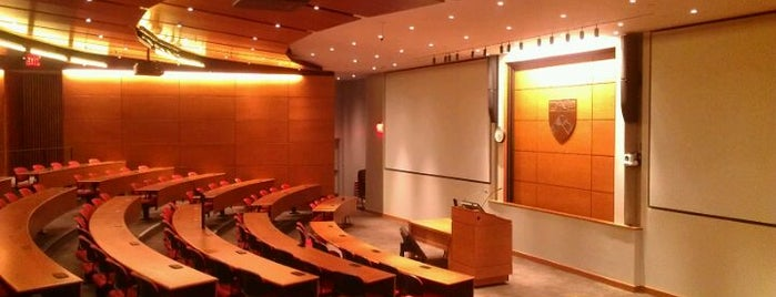 Fitts Auditorium @ Penn Law is one of Penn Law Locations.
