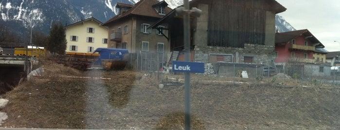 Bahnhof Leuk is one of Bahnhöfe.
