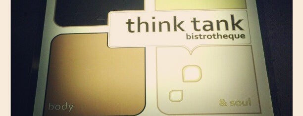 Think Tank is one of Food.