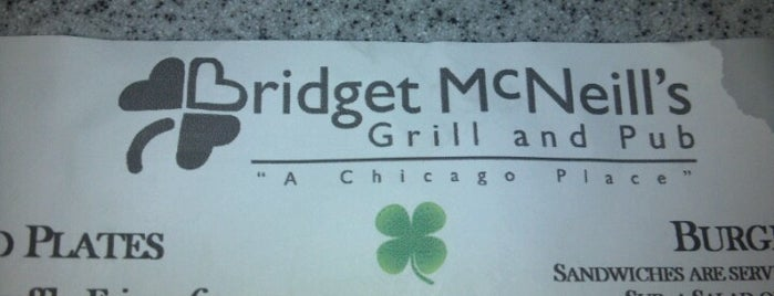 Bridget McNeill's is one of Chicago Restaurant To-Do List.