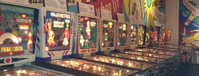 Pacific Pinball Museum is one of 510 Area.