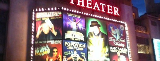 V Theater is one of Vegas.