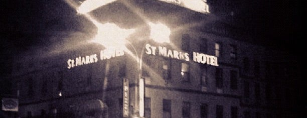 Saint Marks Hotel is one of Short Stay Establishments.