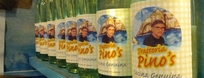 Trattoria Pino's is one of Genova.