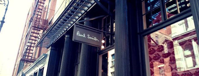 Paul Smith is one of Guide to New York's best spots.