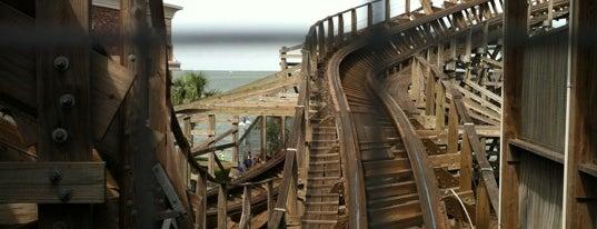 Boardwalk Bullet is one of Roller Coaster Mania.